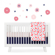 Babyletto Crib Skirt, In Bloom
