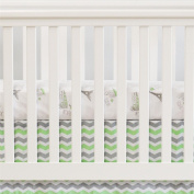 Oliver B City of Dreams 2-Piece Crib Bedding Set - Mint/Grey/White