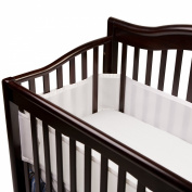 BreathableBaby Mesh Crib Liner-Fits All Cribs, Set of 2