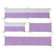 Lilac Cut Dot Airflow Bumper