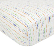 Babyletto Mini Crib Fitted Sheet, Alphabets