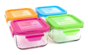 Wean Green Garden Pack Glass Food Containers