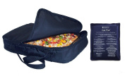 Casserole Carrier and Food Warmer with Large Dual Use Hot Cold Pack -
