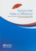 Actions That Make a Difference