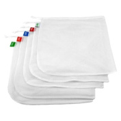 Reusable Polyester Produce Bags - Set of 5
