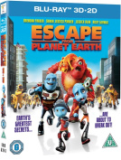 Escape from Planet Earth [Region B] [Blu-ray]