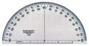 Transparent 15cm Semicircular Protractor