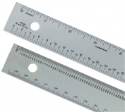 30cm Aluminium Ruler