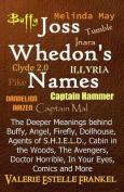 Joss Whedon's Names