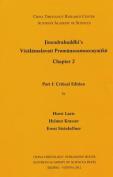 Jinendrabuddhi's Visalamalavati Pramanasamuccayatiki Chapter 2: Part 1