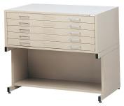 C-FileS For 80cm x 110cm Sheets (Five-Drawer File)-Colour