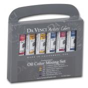 Oil Colour Paint Warm and Cool 6-Colour Set