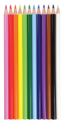 12-Piece Coloured Pencil Set