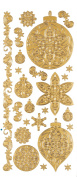 Stickers Gold Ornament