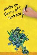 Irises by Van Gogh Dry Erase Image Board