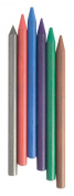 Replacement 5.6mm Lead Pack Assorted Colours