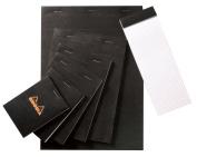 7.6cm x 22cm Black Sketch/Memo Pad