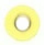 Round Eyelet 0.3cm Pastel Yellow
