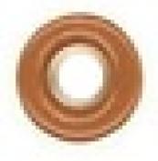 Round Eyelet 0.3cm Brown