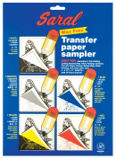 Saral Transfer (Tracing) Paper 22cm . x 28cm . sheets transfer paper sampler