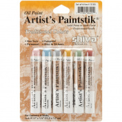 Oil Paint Artist Colour 6-Piece Pro Traditional Set