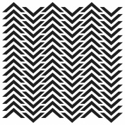 15cm x 15cm Design Template Chevron