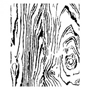 15cm x 15cm Design Template Woodgrain