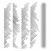30cm x 30cm Design Template Halftone Borders