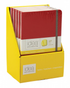 21cm x 13cm Premium Red Hardbound Journal Display