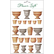 Katy Sue Designs Card Topper - Everyday-Garden - Pots & Urns