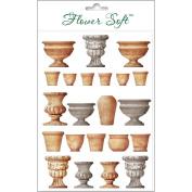 Katy Sue Designs Card Topper - Everyday-Garden - Pots & Urns