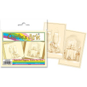 Katy Sue Designs Card Topper - Everyday-Charlie's Ark Sepia - Table For 2