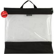 Seeyourstuff Clear Storage Bags 41cm x 41cm -Black