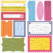 KI Memories Pop Culture Tagline Cardstock Stickers-Favourites