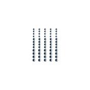 Self-Adhesive Rhinestones 60/Pkg-Snowflake