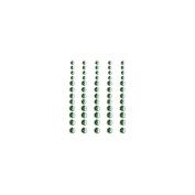 Self-Adhesive Rhinestones 60/Pkg-Grass Green