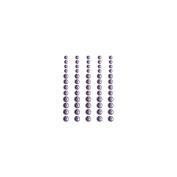 Self-Adhesive Rhinestones 60/Pkg-Indigo