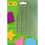 Makin's Clay Texture Sheets 18cm x 14cm 4/Pkg-Set G