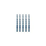 Self-Adhesive Pearls 60/Pkg-Brilliant Blue