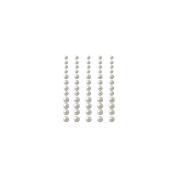 Self-Adhesive Pearls 60/Pkg-Pearl
