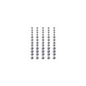 Self-Adhesive Pearls 60/Pkg-Silver