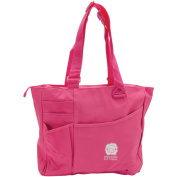 Knit Happy Bright Bag 15X13X4-Pink Multi-Coloured