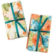 Fabric Bundle Assortment 50cm Wide 100% Cotton 1/4yd Cuts-Vintage Floral