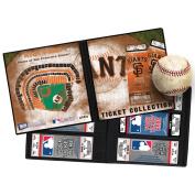 MLB Ticket Album 21cm x 22cm -San Francisco Giants