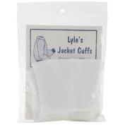 Adult Jacket Cuffs 7.6cm x 18cm -White