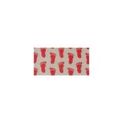 Slipper Grippers 30cm x 36cm 2/Pkg-Red
