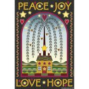 Garden Flags-Peace, Joy, Love & Hope