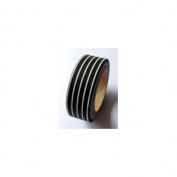 Love My Tapes Washi Tape 15mmX10m-Black & White Pinstripe