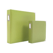Sn@p! Leather Binder 30cm x 30cm -Green