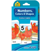 Game Cards-Numbers, Colours and Shapes